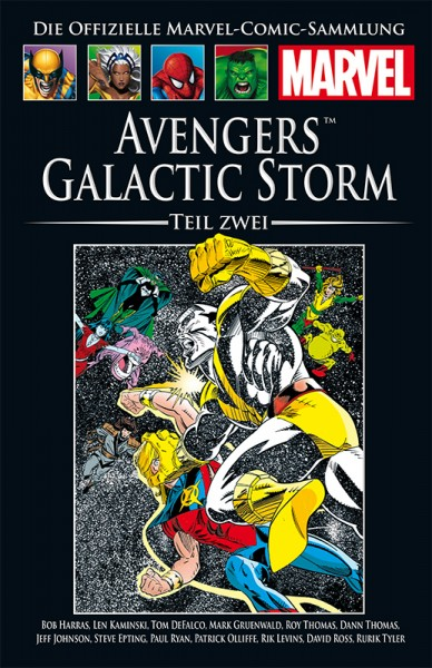 Hachette Marvel Collection 184 - Avengers - Galactic Storm, Teil II