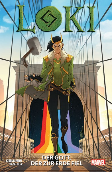 Loki: Der Gott, der zur Erde fiel Cover