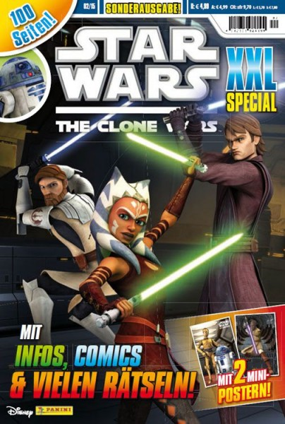 Star Wars: The Clone Wars XXl Special 02/15