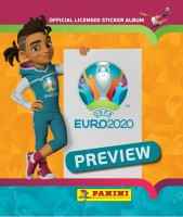 UEFA EURO 2020™ The Official Preview Collection - Sticker - Tüte - International