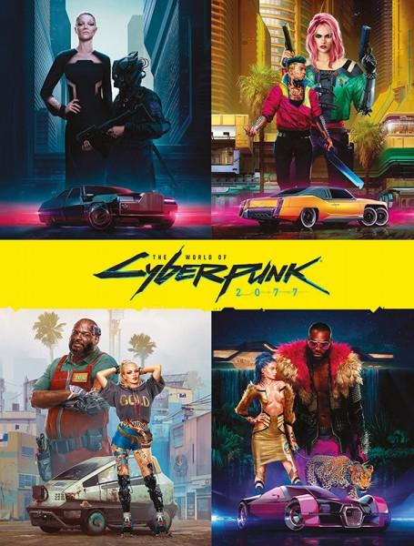 Die Welt von Cyberpunk 2077 Cover