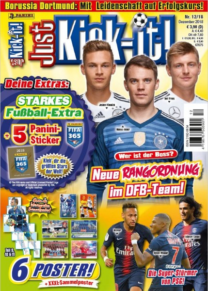Just Kick-It! Magazin 12/18