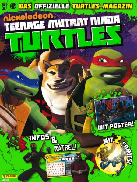Teenage Mutant Ninja Turtles - Magazin 4