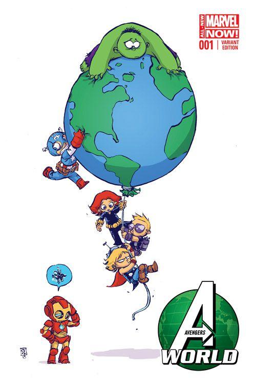 Avengers World 1 Variant