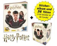 Harry Potter- Sticker und Cards - Box-Bundle Inhalt