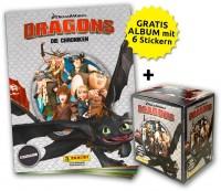 Dragons - Stickerkollektion - Sticker-Starter-Bundle