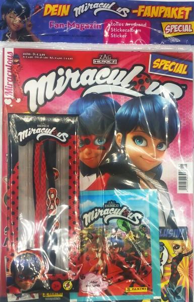 Miraculous Spezial 01/20 - Cover mit Extra und Stickertüte