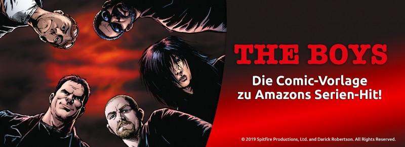 The Boys Die Comic-Vorlage zu Amazon-Primes Serien-Hit