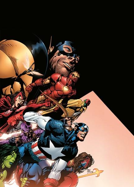 Marvel Must Have: Avengers - Heldenfall Cover