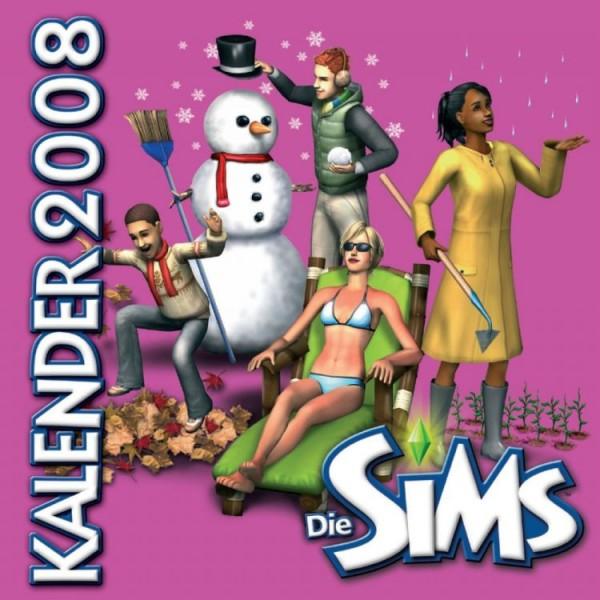 Die Sims - Wandkalender (2008)
