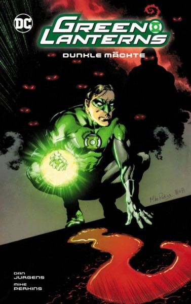 Green Lanterns (Rebirth) 10 - Dunkle Mächte HC