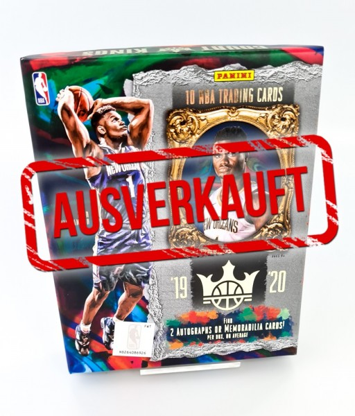 NBA Court Kings 2019-20 Trading Cards - Hobbybox - ausverkauft