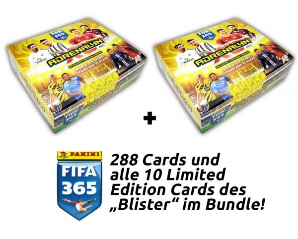 Panini FIFA 365 Adrenalyn XL 2021 Kollektion – Blister-Total-Bundle