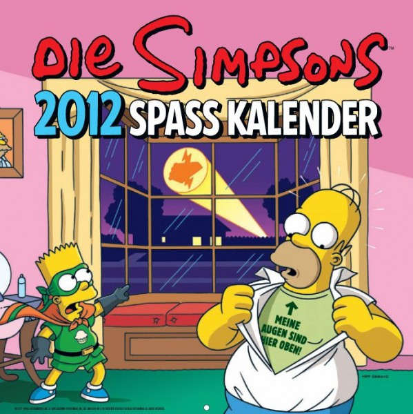 Simpsons - Wandkalender (2012)