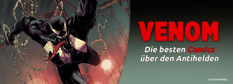 Venom – Die besten Comics zum Antihelden