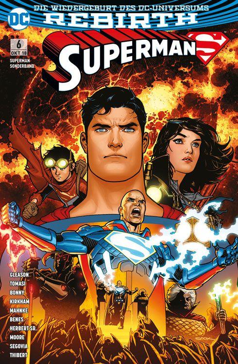Superman Sonderband 6: Imperius Lex