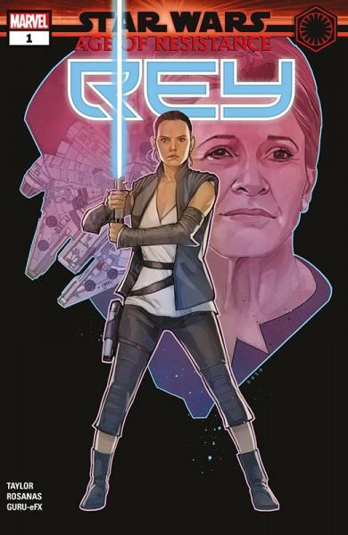 Star Wars 64: Age of Resistance - Rey & Snoke - Kiosk-Ausgabe Cover