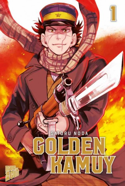 Golden Kamuy 1 Cover