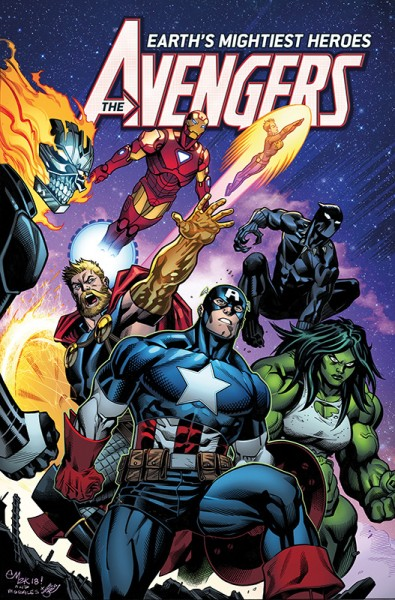 Avengers Paperback 2 Cover