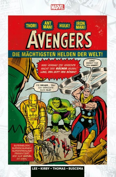 Marvel Klassiker: Avengers 1 Hardcover