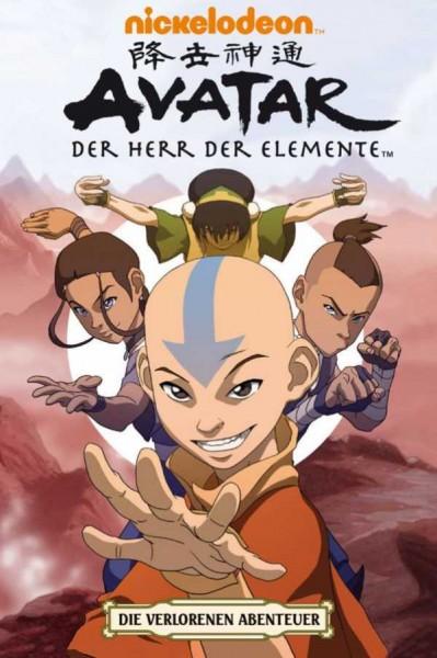 Avatar - Der Herr der Elemente 4: Die verlorenen Abenteuer - Cover