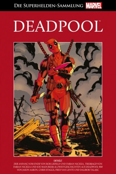 Die Marvel Superhelden Sammlung 34 - Deadpool