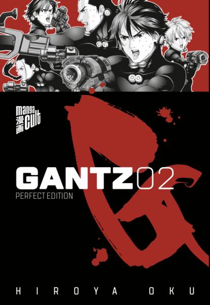 Gantz 2 Cover