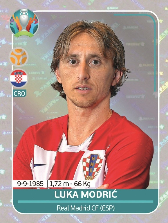UEFA EURO 2020 Official Sticker Preview Collection - Luka Modric