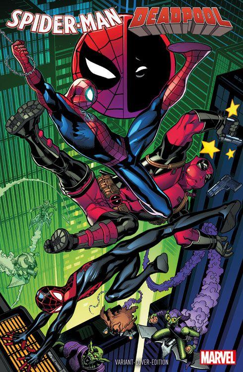 Spider-Man/Deadpool 1 Variant