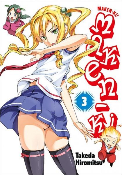 Maken-Ki 3 Cover