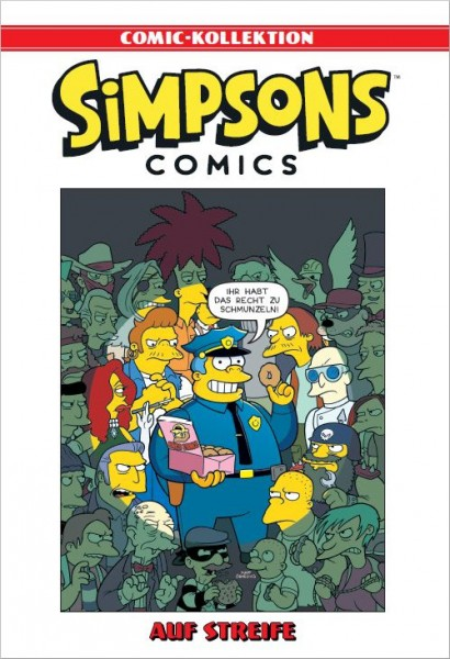 Simpsons Comic-Kollektion 27: Auf Streife Cover