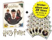 Harry Potter- Sticker und Cards - Sammelbundle Inhalt