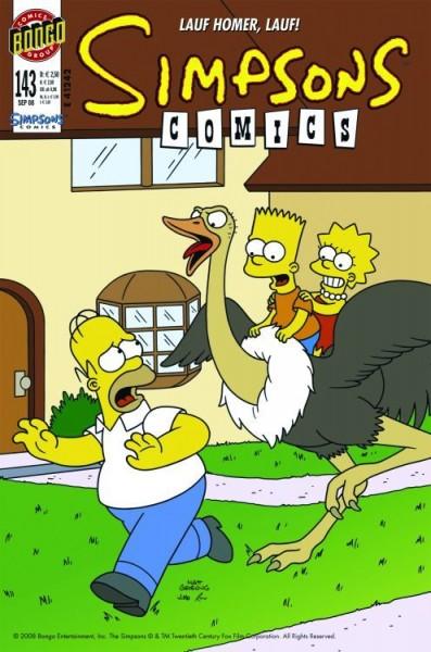 Simpsons Comics 143