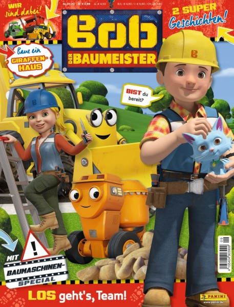 Bob der Baumeister Magazin 09/20