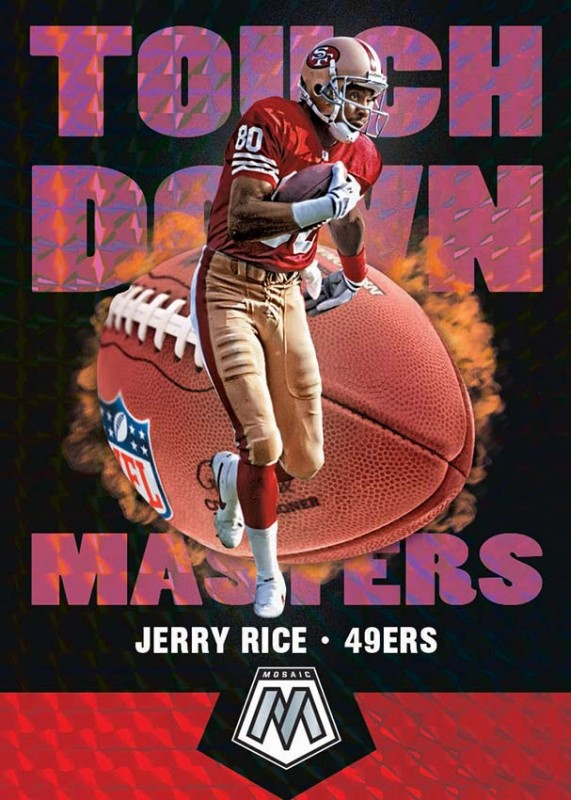 NFL Mosaic 2020 Trading Cards - Jerry Rice