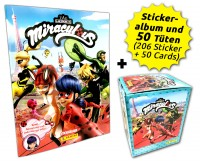 Miraculous Sticker und Trading Cards - Box-Bundle