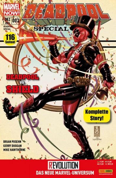 Deadpool Special 2: Deadpool vs. Shield