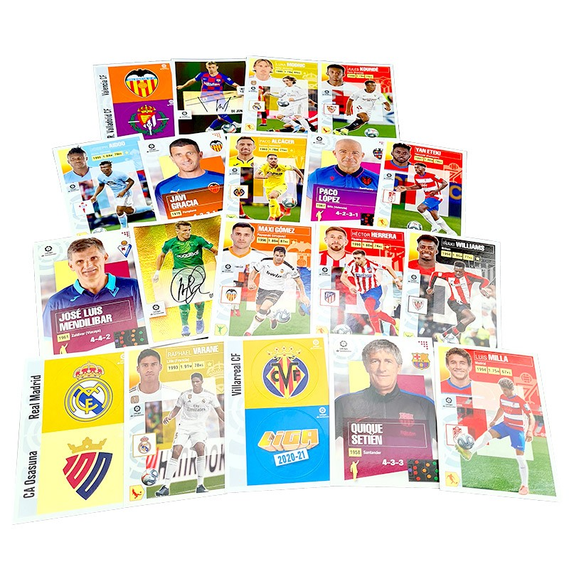 LaLiga 2020-21 Stickerkollektion - Sticker