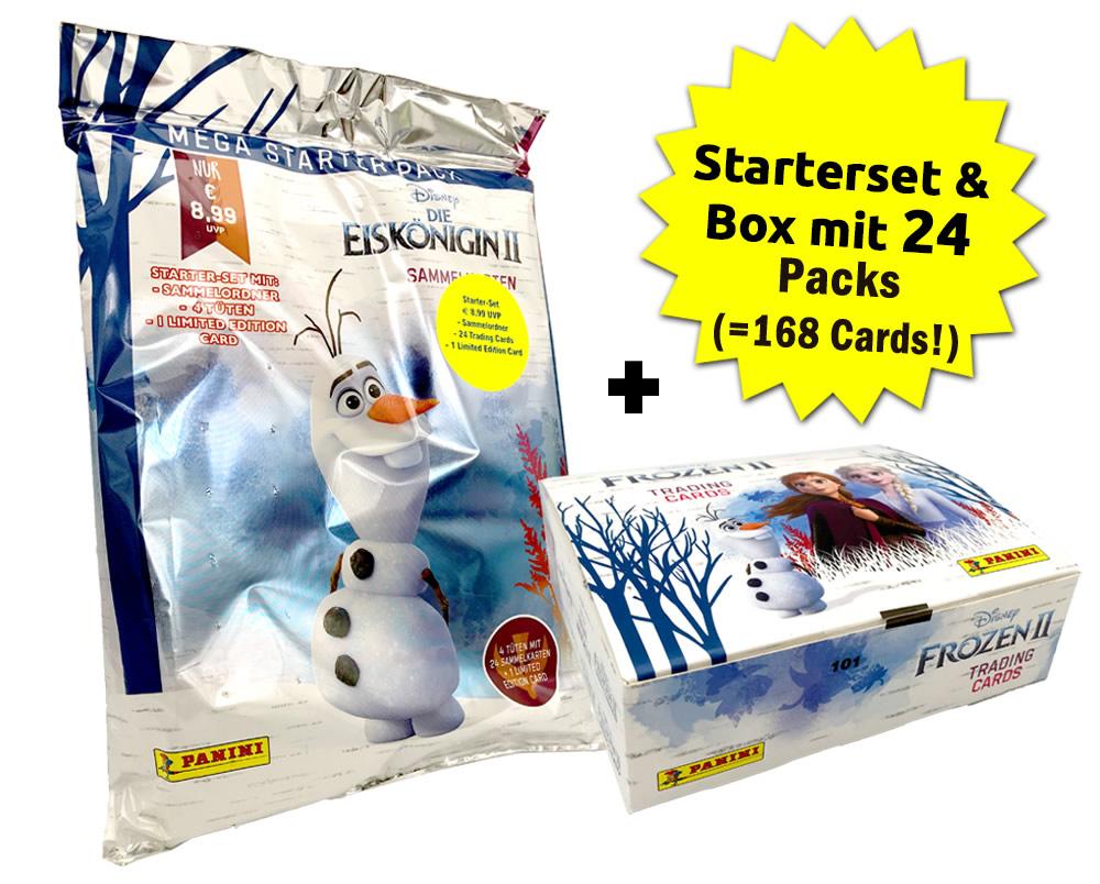 Disney: Die Eiskönigin 2 -  Trading Cards - Eiskönigin-Cards-Bundle
