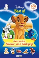 Disney Best of - Superstarker Sticker- und Malspaß Cover