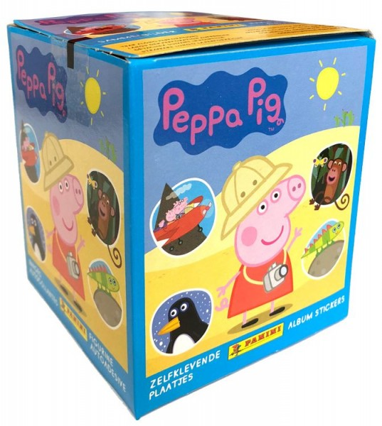 Peppa Pig Stickerkollektion - Box