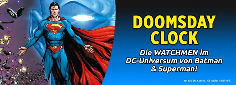 Doomsday Clock – Die Watchmen im DC Universum von Batman und Superman