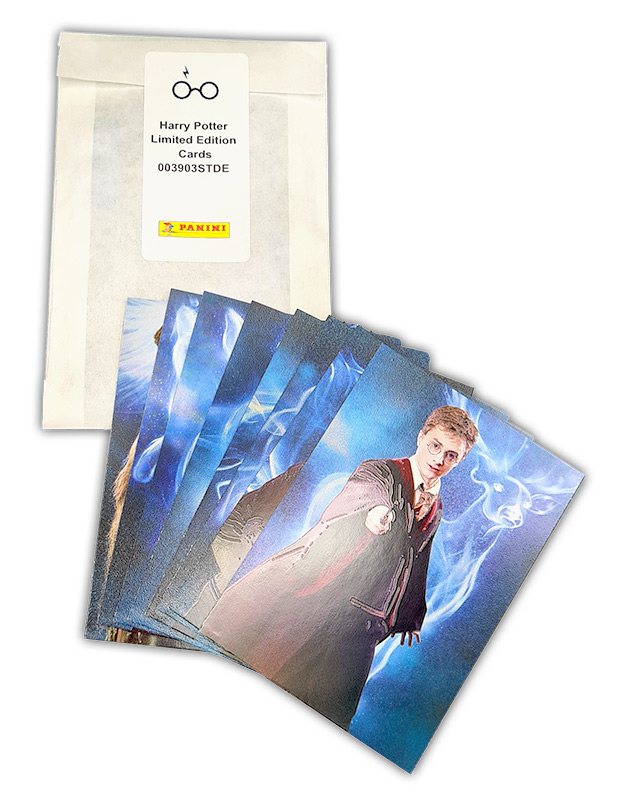 Harry Potter Sammelkollektion Limited Edition Cards Komplettset