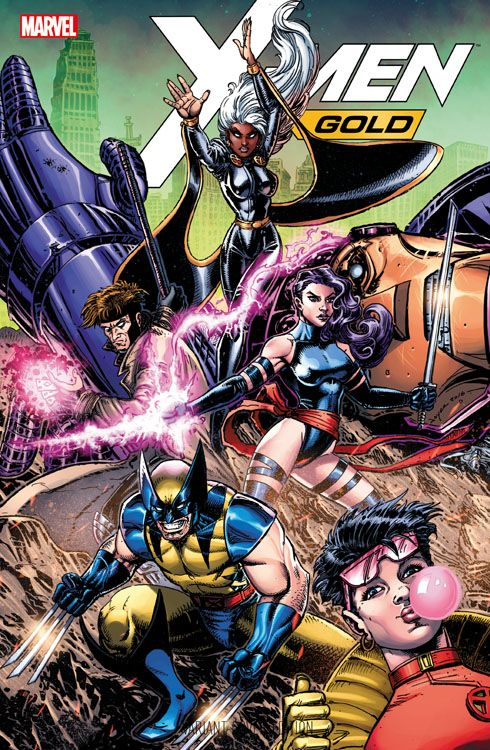 X-Men: Gold 3 Comic Action Essen 2018...