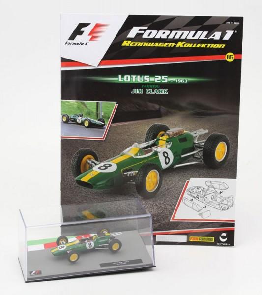 Formula 1 Rennwagen-Kollektion 16: Jim Clark (Lotus 25)