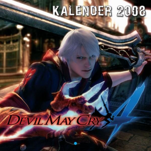 Devil May Cry 4 - Wandkalender (2008)