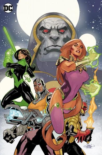 Justice League Odyssey 1: Der Geistersektor Variant