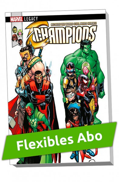 Flexibles Abo - Marvel Legacy Paperback: Avengers/Champions