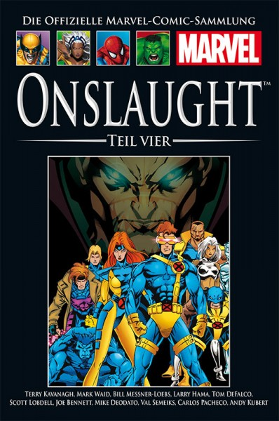 Hachette Marvel Collection 198 Onslaught, Teil IV Cover