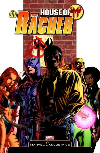 Marvel Exklusiv 76: House of M - Die Rächer